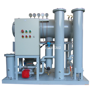 Coalescing Dehydration Vacuum Turbine Oil Purification Machine