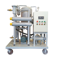 ZJC Series Vacuum Turbine Oil Purifier Machine and Oil Dehydration Machine